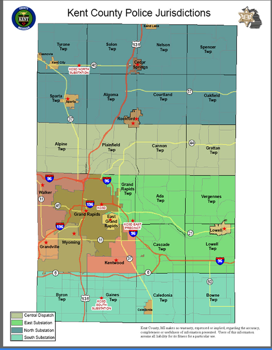Geographic Information System Kent County Michigan